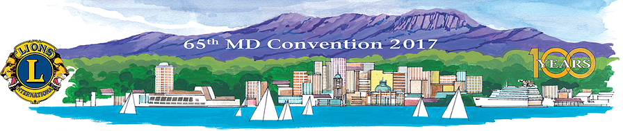 2017 Lions Convention Banner